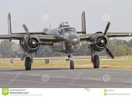 An Ii B B World War Ii B 25 Mitchell Bomber Editorial Photography Image