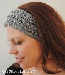 Ear Warmer Crochet Pattern Gorgeous Ravelry Sleek And Skinny Ear Warmer Headband Pattern By Lorene