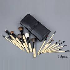 bobbi brown 18 pieces of brushes set with black pouch mac cosmetics whole 43 25 makeup fashion bobbi brown and makeup
