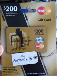 visa gift card no activation fee photo 1