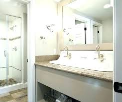bathroom sink with two faucets trough sink with 2 faucet double faucet trough bathroom sink interesting