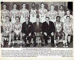 Celtics Depth Chart 1959 60 Boston Celtics Season Wikipedia