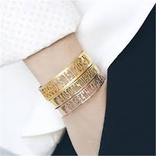 aliexpress mcllroy steel jewelry cool bracelet bangle new coordinatescollection bracelets men female end longitude and laude 2019 from