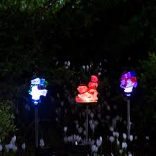 outdoor lighting decorations. pearlstar snowman led solar plug lights christmas decorations outdoor lighting garden lawn panel landscape patio