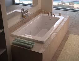 venzi villa 42 x 60 rectangular whirlpool jetted bathtub with left drain by atlantis
