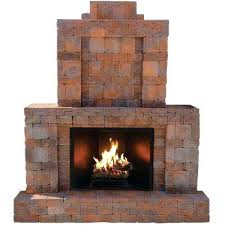 home depot outdoor fireplace in x in x in outdoor stone fireplace in home depot canada