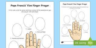 Many countries have their own national teachers day. Praying With Your 5 Fingers Worksheet Worksheet