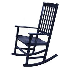 rocker patio chairs. willow bay patio rocking chair - black rocker chairs