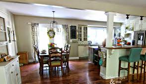 Fall Kitchen  Living Room Home Remodeling Boys And Sliding Doors - Split level house interior