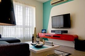 Design Inspiration 12 Clever TV Rooms  HuffPostSmall Space Tv Room Design