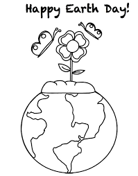 Small Picture Earth Day Flower Coloring Pages Coloring Pages