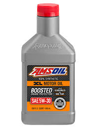 amsoil sae 5w 30 xl extended life synthetic motor oil