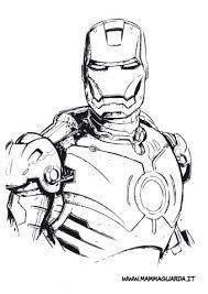 Disegni Da Colorare Gratis Iron Man Fredrotgans