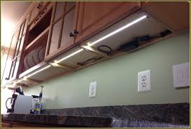 led tape under cabinet lighting installation