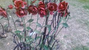 Collection in Metal Garden Flowers Outdoor Decor Metal Art Westwood  Pavillion Part 2