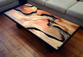 wood slab coffee table uk vancouver ideas