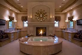 Bathroom Fireplace Ideas-02-1 Kindesign