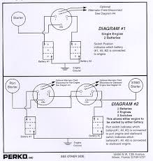 perko battery switch wiring diagram wirdig
