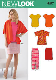 New Look Patterns Cool New Look 48 Misses Jacket Tee Skirt And Pants