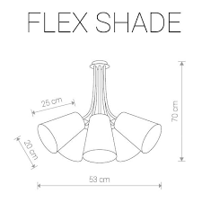 <b>Подвесная люстра Nowodvorski</b> Flex Shade <b>9277</b> купить по ...