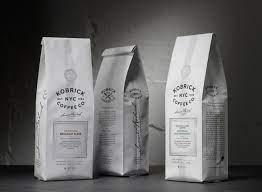 When coffee is fresh roasted, it releases carbon dioxide. Work Kobrick Coffee Roasters Sandstrom Partners