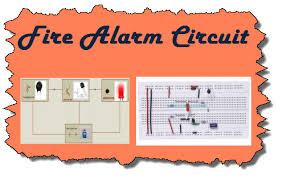steps to build simple fire alarm circuit using thermistor fire alarm circuit using thermistor at Fire Alarm Circuit Diagram