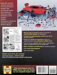 chevrolet camaro repair manual 2010 2015 haynes 24018 chevy camaro repair manual 2010 2015
