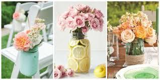 Image Poinsettia Mason Jar Flower Arrangements Country Living Magazine 17 Pretty Mason Jar Flower Arrangements Best Floral Centerpieces