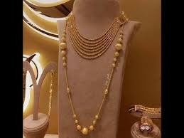 latest light weight gold chain pendant