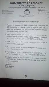 ... When Is Unical Resuming For Semester 2016 by Https Myschool Ng News  Feeds Unical ...