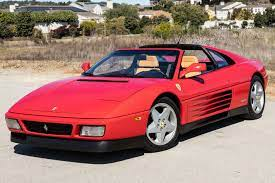 15k Mile 1992 Ferrari 348 Ts For Sale On Bat Auctions Closed On March 31 2020 Lot 29 625 Bring A Trailer