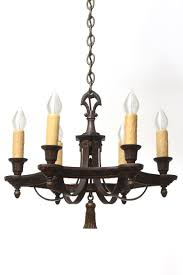 home chandeliers cast iron polychrome chandelier