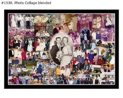 Example Of A Collage Wedding Photo Collage