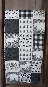 Best 25+ Boy quilts ideas on Pinterest | Baby quilts for boys ... & Baby Boy Quilt Baby/Toddler Blanket Woodland Deer by Babylooms Adamdwight.com
