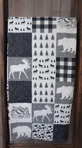 25+ unique Toddler quilt ideas on Pinterest | Easy quilt patterns ... & Baby Boy Quilt , Baby/Toddler Blanket , Woodland , Deer , Buck , Arrow ,  Buck Forest , Baby Bedding , Crib Bedding , Babylooms Adamdwight.com