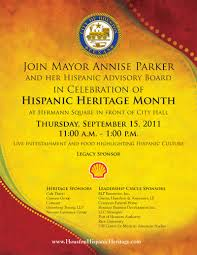 houston hispanic heritage month celebration kick off