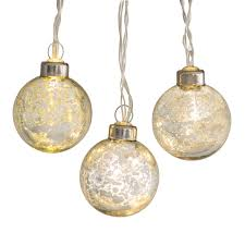 Mercury Glass String Lights 10ct Belham Living String Lights 18 Ft Mercury Glass Gold Walmart Com