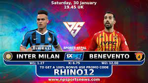 INTER MILAN VS BENEVENTO ITALY SERIE A - Nepal Sports