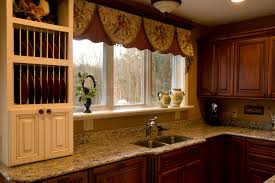 Kitchen Bay Window Kitchen Bay Window Curtains Hennyskitchen