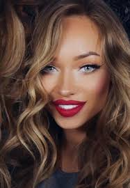 love bold lips glory skin simple eyes add beachy wave hair it s pretty much what i m going to do allll spring summer simple makeup 7