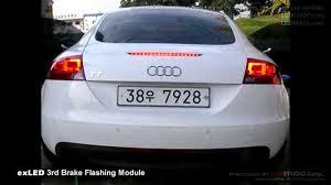 Audi Tt High Level Brake Light Exled 3rd Brake Flashing Module Install On Audi Tt And Hyundai Santafe