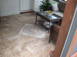 how do you best clean a tile floor in a screen porch archadeck of