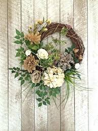 outdoor wreaths for front door burlap wreath neutral wreath everyday wreath year round wreath any occasion outdoor wreaths for front door