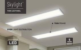 skylight flat panel by artika costco