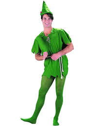 Charades Costume Size Chart Costumes Charades Unisex Adult Peter Pan Costume