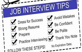 Tips For Job Seekers Top Job Interview Tips For Jobseekers Gcm Technology