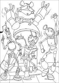 Robot Disegni Per Bambini Da Colorare
