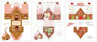 christmas house template gingerbread house printables for christmas christmas