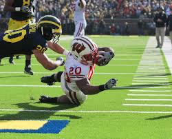 James White Football Wisconsin Badgers