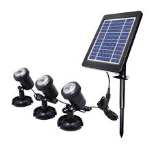 Underwater Solar Led Lights Us 40 16 39 Off New Arrival Led Solar Underwater Lights Swimming Pools Outdoor Garden Party Decoration Pond Submersible Lighting Ip68 Waterproof In